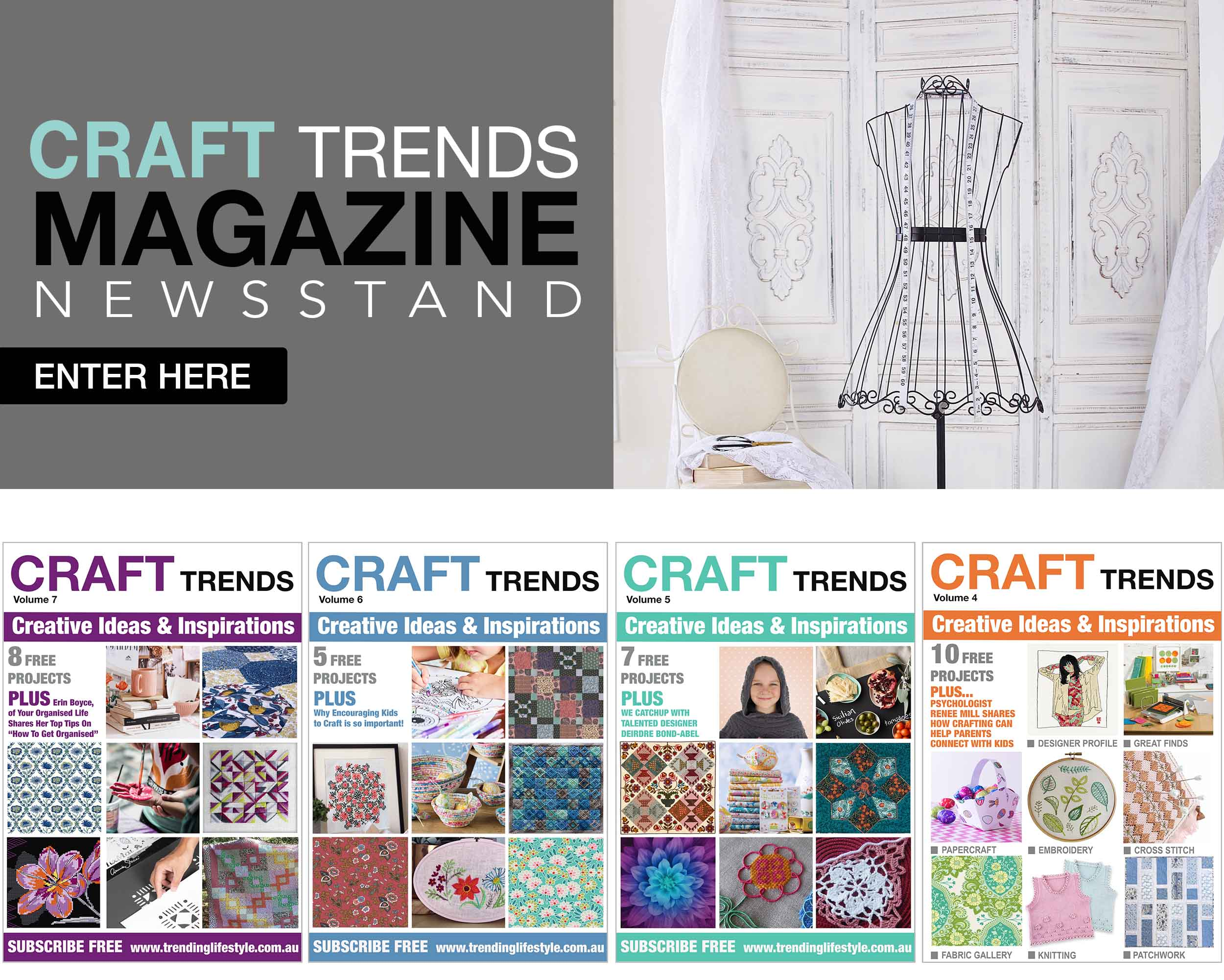 Craft Trends Newsstand