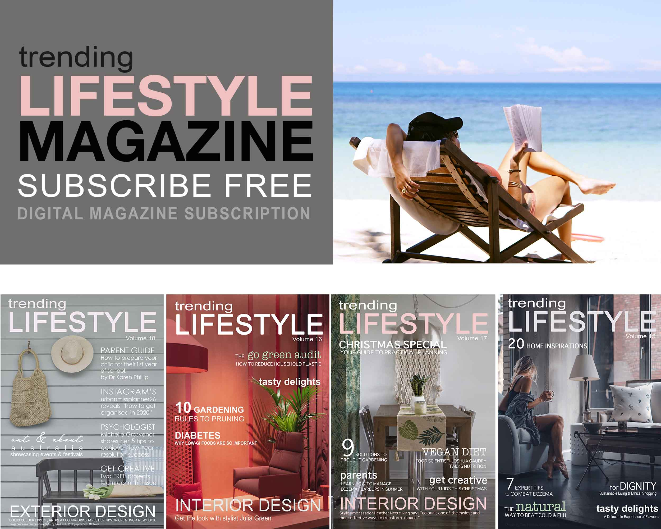 Trending Lifestyle Magazine Subscribe Free