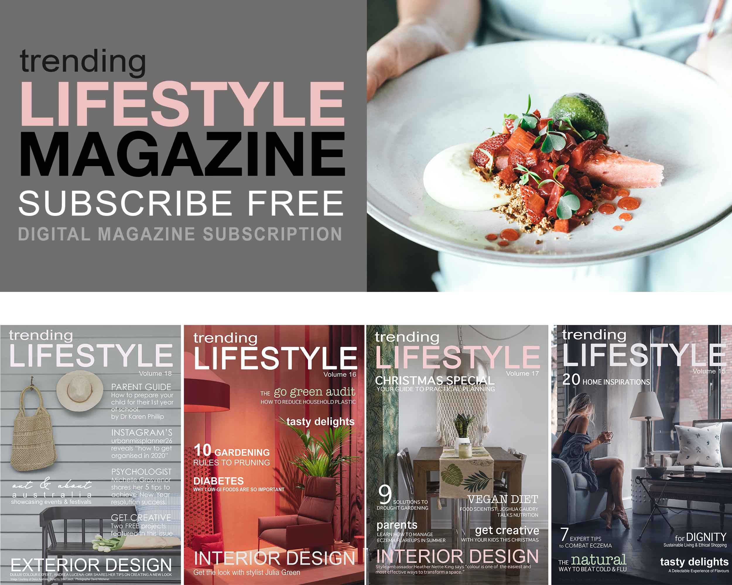 Trending Lifestyle Magazine Cooking