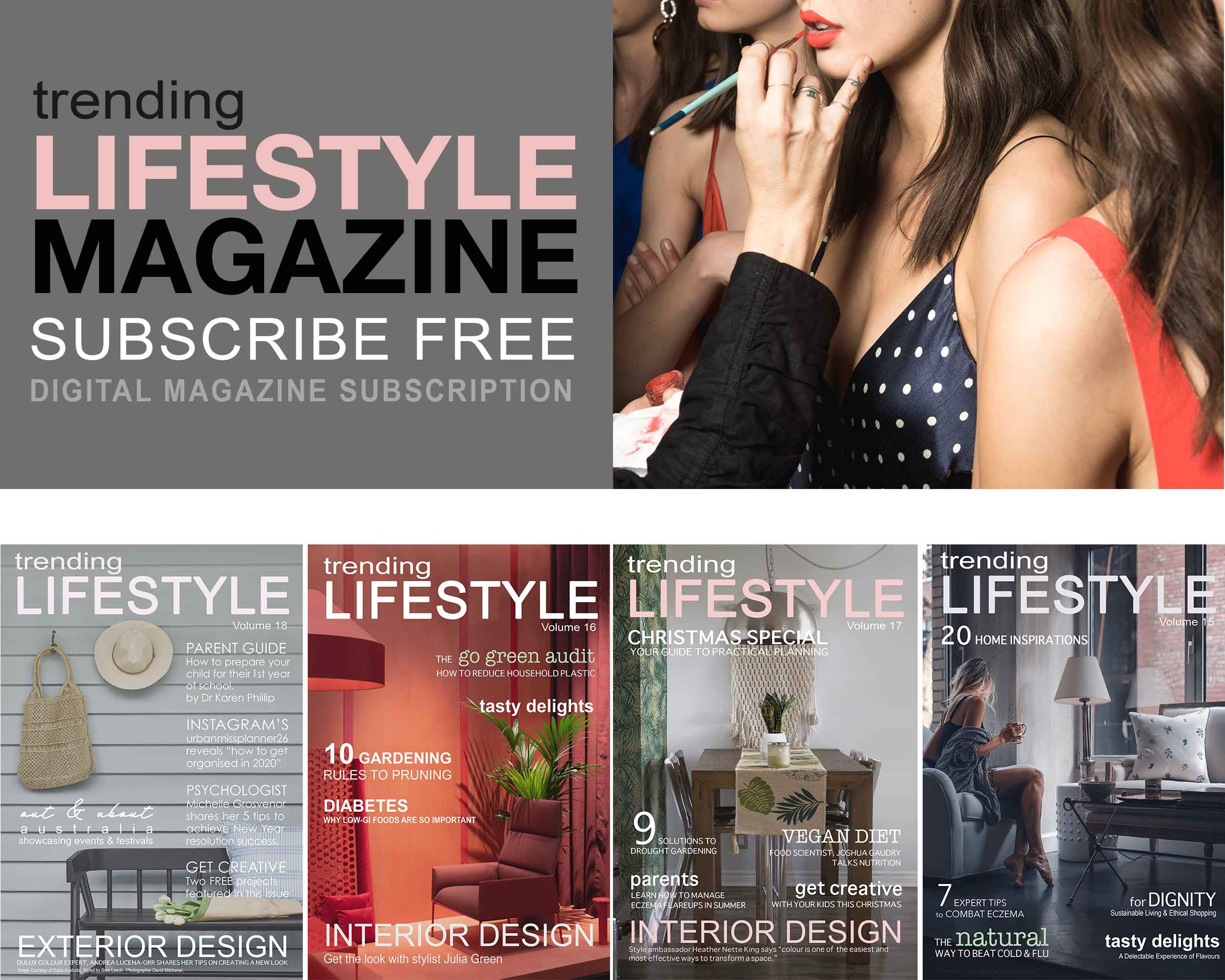 Trending Lifestyle Magazine Health & Beauty