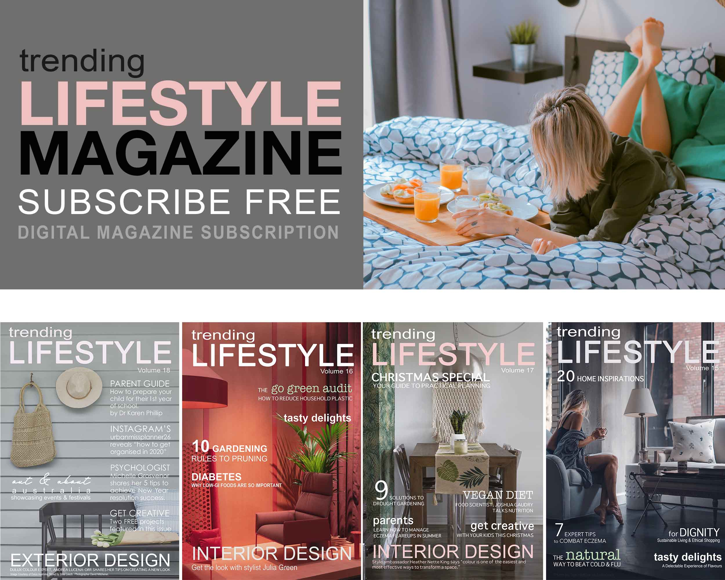 Trending Lifestyle Magazine Wellbeing