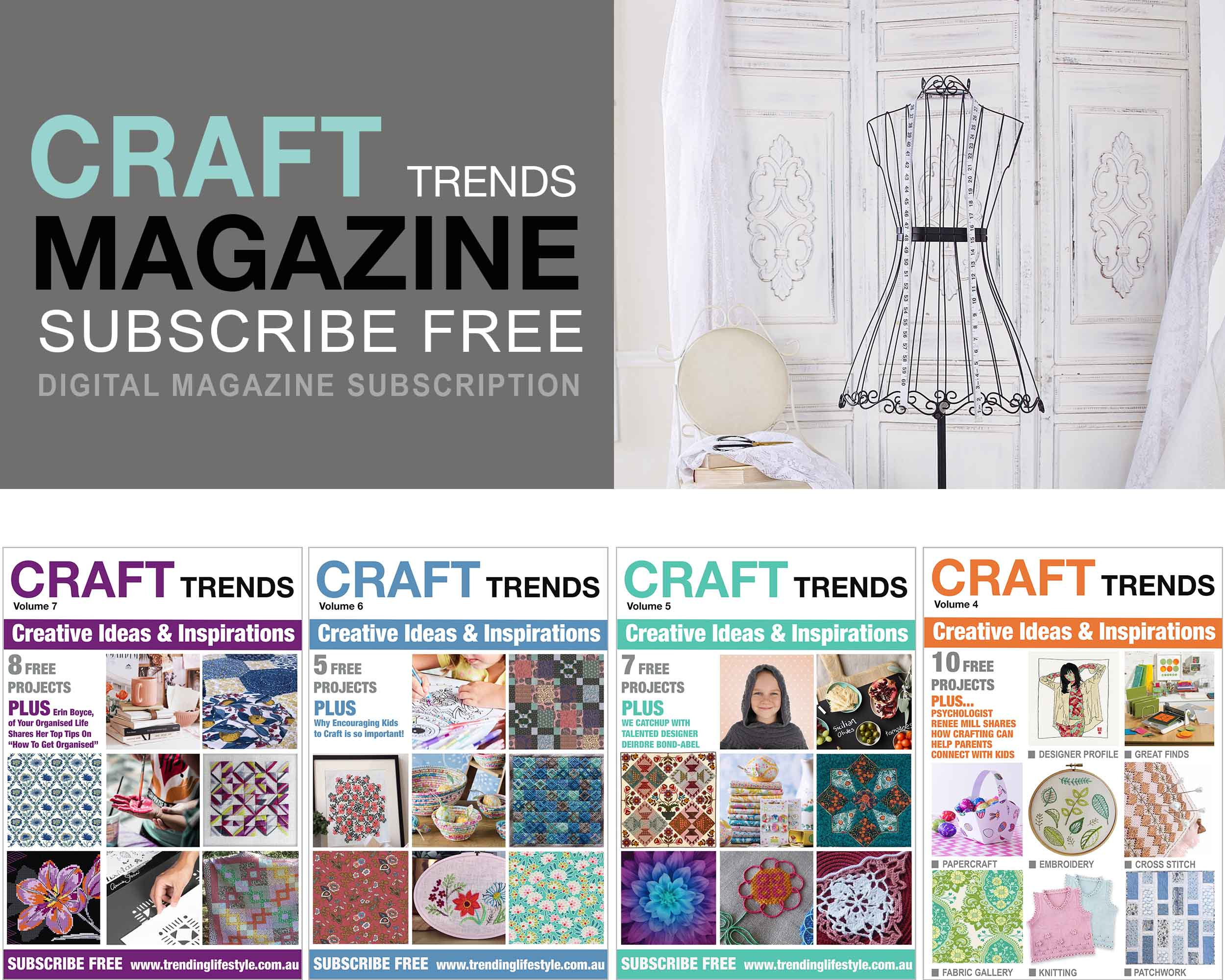 Craft Trends Magazine Subscribe Free